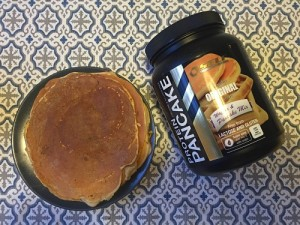 laktosfri och glutenfria laktospannkakor