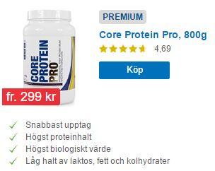 core protein pro proteinpulver