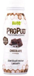 Choklad proteinmilkshake